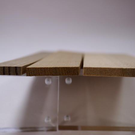 画像5: ニレ 5mm厚(銘木ものさしシリーズ) ニレ 楡 ハルニレ 春楡 ものさし 木象嵌