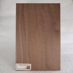画像1: 木のはがき ウォールナット 5×100×150mm