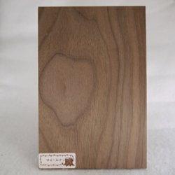 画像2: 木のはがき ウォールナット 5×100×150mm