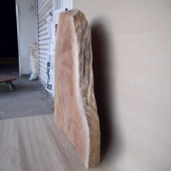 画像4: 厚みのある「ケヤキ板」 70mm