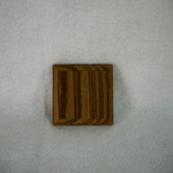画像1: チーク飾り台 10×60×60mm