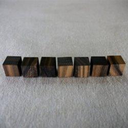 画像2: コクタン  15×15×15mm(12ヶ入)