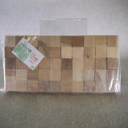 画像1: カツラ サイコロ 袋入り 20×20×20mm