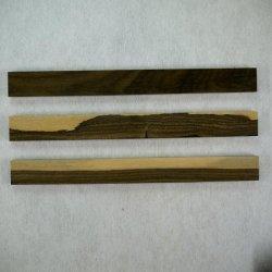 画像4: シャムガキ 5mm厚(銘木ものさしシリーズ)