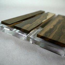 画像5: シャムガキ 5mm厚(銘木ものさしシリーズ)