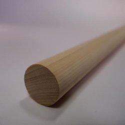 画像2: ヒノキ丸棒 20φ×450mm