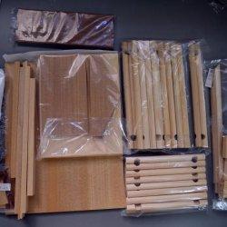 画像4: 木製組立キット 「ログハウス小物入れ」