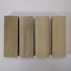 画像4: ひらめ木パーツ・ホオ 10×20×60mm 【WEB限定】