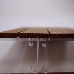 画像5: パオロッサ 5mm厚(銘木ものさしシリーズ)