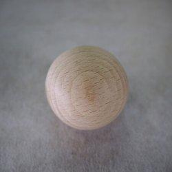 画像1: 木球 直径 [40mm ・ 45mm ・ 50mm]