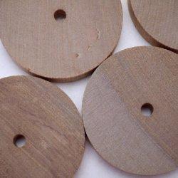 画像3: サクラ 穴あき円板袋入り 10×50φmm-5φ穴(4入)