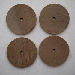 画像2: サクラ 穴あき円板袋入り 10×50φmm-5φ穴(4入)