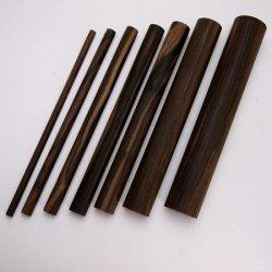画像1: コクタン丸棒 [10・15・20・24・30・40]φ×300mm