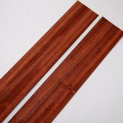 画像2: ツキ板 0.5×90×900mm(2枚)[ロイヤルチェリー・パドック・インブイヤ・バーザイメープル・ウォールナット・雲南杉・セン] 【WEB限定】