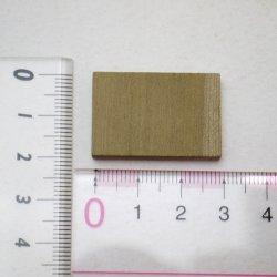 画像2: ひらめ木パーツ・ホオ 5×30×20mm 【WEB限定】