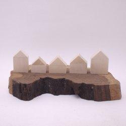 画像4: 木工作キット ちいさい木のおうち
