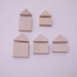 画像3: 木工作キット ちいさい木のおうち