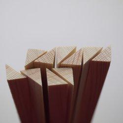 直角2等辺三角形の木口