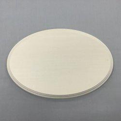 画像1: シナ飾り台  楕円 15×200×300mmφ  大